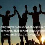 Kata kata mutiara persahabatan