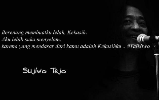 Kumpulan Kata Mutiara Cinta Ala Sujiwo Tejo Ngena Di Hati